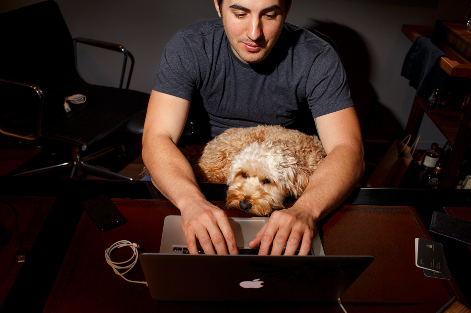 A Day in the Life of Kevin Rose