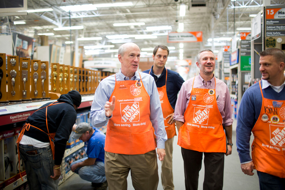 Frank Blake, CEO, Home Depot.  Atlanta, GA By Melissa Golden